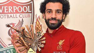 محمد صلاح ملك الجوائز