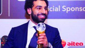 جوائز محمد صلاح 2018